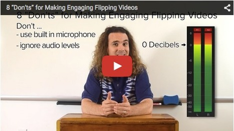 """8 """"Don'ts"""" for Making Engaging Flipping Videos * Flipped Learning Network 