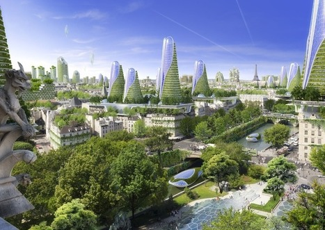Vincent Callebaut Architecte PARISSMARTCITY2050 | Better Mobility, Living, Logistics, Infrastructure | Scoop.it