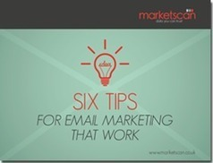 Six Tips for Email Marketing That Work [SLIDESHARE] | Real Estate Marketing & Technology | Scoop.it