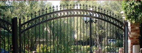 Roseville wrought iron fence with very affordable prices | Custom Courtyard Gates Design with variant styles around Sacramento | Scoop.it