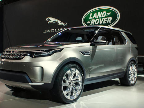 Land Rover Discovery Vision concept charts its path with lasers - CNET | Augmented Reality News and Trends | Scoop.it