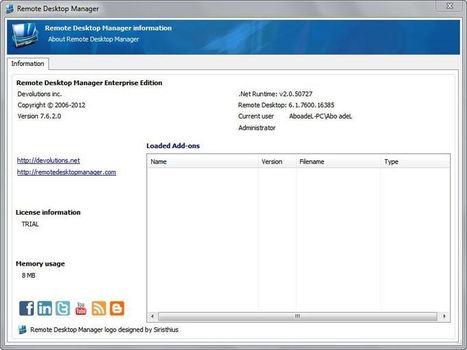 برنامج Remote Desktop Manager 7.6.2.0 لإدارة سطح المكتب والتحكم به فى أخر إصدار - شبكة ومنتديات تعليم وابداع | منتديات تعليم وابداع | Scoop.it
