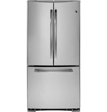 @1@  New Low Price on   GE GNE22GSESS 22.1 Cu. Ft. Stainless Steel French Door Refrigerator – Energy Star GE | Cheap Refrigerators on Sale | Scoop.it