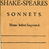 Shakespearean Sonnets & Modern Sonnets