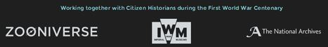 Operation War Diary: Working together with Citizen Historians during the First World War Centenary. | Odin Prometheus: Earth's History | Scoop.it