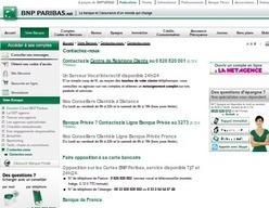 BNP Paribas : Contact par téléphone   Service client   Scoop.it