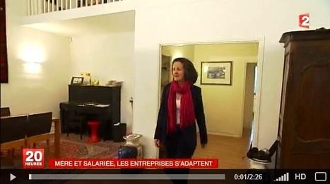 VIDEO - Mère et salariée, les entreprises s'adaptent (France 2) | Actu RH - Pro&Co | Scoop.it