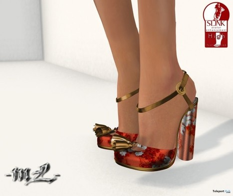 Bella shoes v7 1L Promo by monaLISA | Teleport Hub - Second Life Freebies | Second Life Freebies | Scoop.it