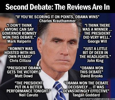 Reviews of the Second Presidential Debate   Educating Voters and Promoting the Vote   Scoop.it