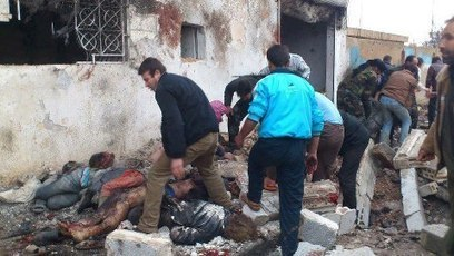 Peter Clifford SYRIA NEWS: Assad's foul regime yesterday sent a rocket attack against an innocent queue of people | News from Syria | Scoop.it