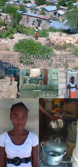 Meet the 7th Grader – Ayiti Now Corp – Tuition Program | Ayiti Now Corp | Scoop.it