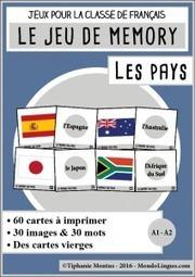 Memory des pays | FRANÇAIS BASIQUE | Scoop.it
