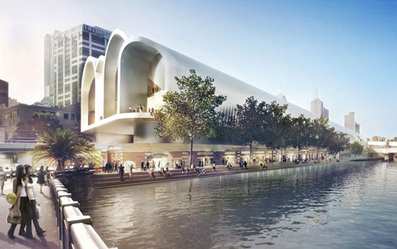 Herzog & de Meuron and Hassell win Melbourne station competition | green streets | Scoop.it