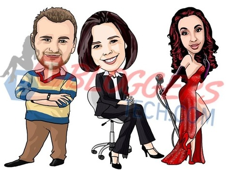 Online Cartoon Caricature Maker - Custom Drawing from Photos | christian | Scoop.it