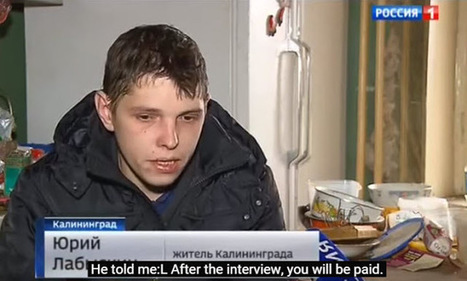 German ZDF TV Hoaxes Donbass Militia 'confessions' | Global politics | Scoop.it