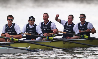 Oxford University beat Cambridge to win Boat Race by length and a half | MDV 2014 | Scoop.it
