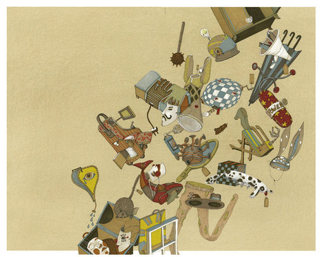 Illustration calling meets ALICIA BALADAN | makemehappytoday | Illustrazione oggi | Scoop.it