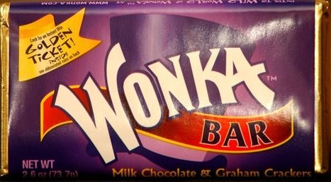 Wonka Bar | The 13 Most Influential Candy Bars of All Time | TIME.com | enjoy yourself | Scoop.it