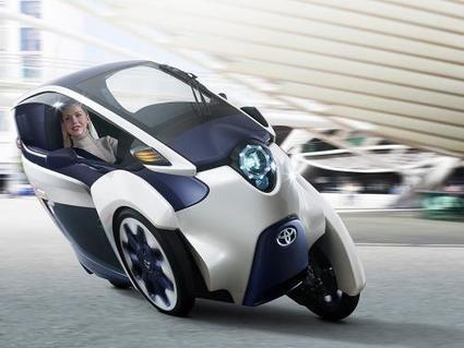 Toyota's i-Road to debut at the Geneva Motor Show   Sustain Our Earth   Scoop.it