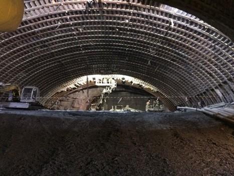 Lyon-Turin : le tunnelier Federica entre en action | Options Futurs Rio+20 | Scoop.it