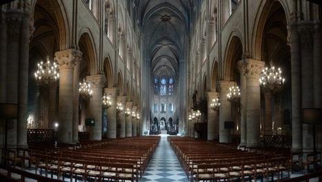 In Paris, 14th-century cathedral gets 21st-century lighting retrofit ... | Packaging | Scoop.it