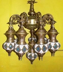 Antique Brass Chandelier Online   Indian shaily crafts   Scoop.it