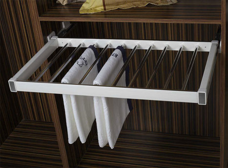 Klasse-Silent-Trouser-Pull-Out   Modular-Kitchen   Scoop.it