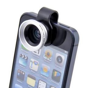 Objectif Photo 2 en 1 (Macro + Grand Angle) pour iPhone 4 / 4S - iboolo - Noir et Gris - Se clipse sur l'iPhone 4 / 4S sur Fnac.com | Cadeaux Réjane | Scoop.it