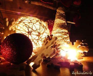 TUTO - Faire un sapin creux en laine collée et l'illuminer pour ... | Fait maison | Scoop.it