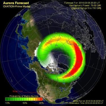 """Aurora Borealis Forecast. Everything You Need to know."" 