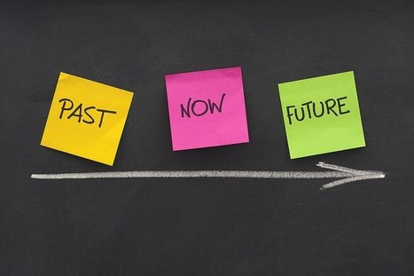 Past, Present and the Future Marketing | Social Media Today | GRAPHIC DESIGN | Scoop.it