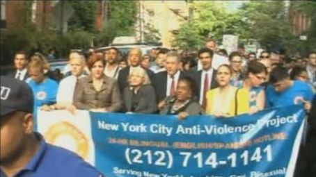 Gay Rights Advocates March Against Hate Crimes - NY1 | Current Politics | Scoop.it