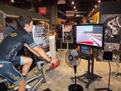 Virtual reality indoor trainers are just one of the high-tech recent advances ... - BikeRadar.com | augmented reality II | Scoop.it