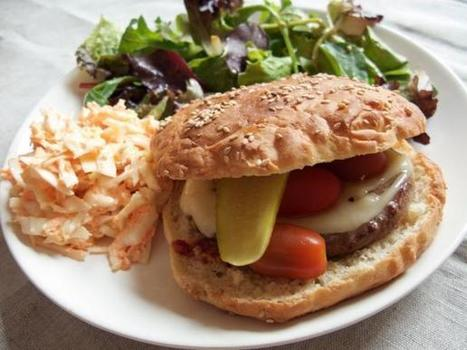 Plat du jour : Cheeseburger maison | thevoiceofcheese | Scoop.it