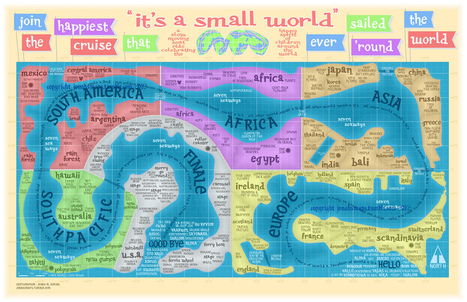 It's a Small (and Cartographically Incorrect) World After All! | Mrs. Watson's Class | Scoop.it