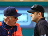 Leyland tossed for arguing double play calls - DetroitTigers.com | argument in writings | Scoop.it