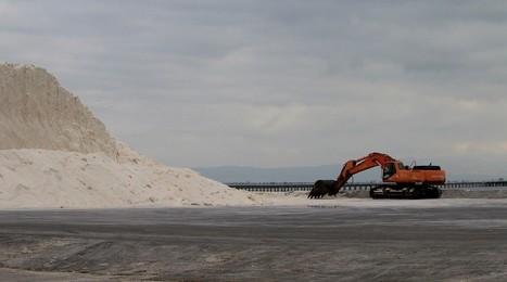 La sequera fa preveure una bona collita de sal al delta de l'Ebre | #territori | Scoop.it