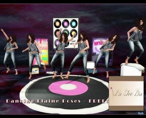 Elaine 6 Dance Static Poses Gift by La Tee Da | Teleport Hub - Second Life Freebies | Second Life Freebies | Scoop.it