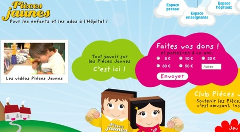 Pièces Jaunes : dispositif de don en ligne inédit avec Priceminister. | La veille de generation en action sur la communication et le web 2.0 | Scoop.it