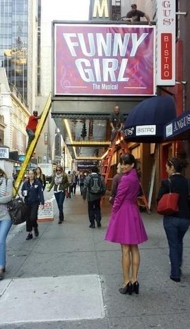 Photo Flash: GLEE's Lea Michele & Ryan Murphy Tease Broadway Revival of 'Funny Girl' | Acting or Singing | Scoop.it