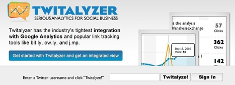 Twitalyzer: Serious Analytics for Social Relationships | Time to Learn | Scoop.it