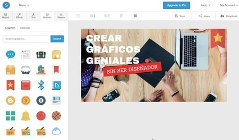 Snappa, o cómo crear gráficos bonitos sin saber diseñar | #TRIC para los de LETRAS | Scoop.it