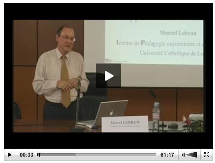 Marcel Lebrun :Marcel Lebrun : La e-pédagogie, ou l'impact des technologies de l'Information sur la pédagogie - Edition 2010 | Autoformation et Foad | Scoop.it