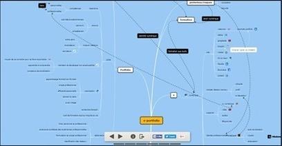 La carte mentale comme ePortfolio | Representando el conocimiento | Scoop.it