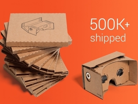 Google Cardboard VR Kit Becomes Serious Fun: SDKs for Android and Unity Launched | Low Power Heads Up Display | Scoop.it