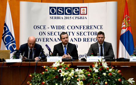 Address by OSCE CiO Ivica Dacic at the Conference on Security Sector Governance and Reform held in Belgrade | Security Sector Reform and Governance | Scoop.it