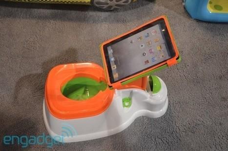 Crapgadget CES, round one: the iPotty iPad dock | Alternativ | Scoop.it