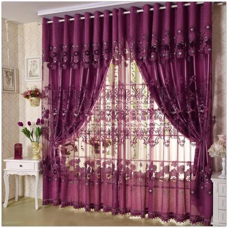 Unique curtain designs for living room window decorations | living room design | Scoop.it