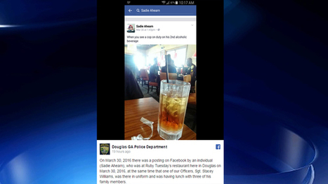 Georgia police department calls out woman who accused officer of drinking on the job   Police Problems and Policy   Scoop.it