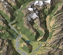 Parallel Projected 3D Maps | Geographx | Diplomat Cartography | Scoop.it